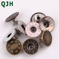 20 шт./компл. 17 мм QJH высокое качество металлические пуговицы с установкой инструменты/хранения джинсы кнопки DIY швейных аксессуары для куртк...