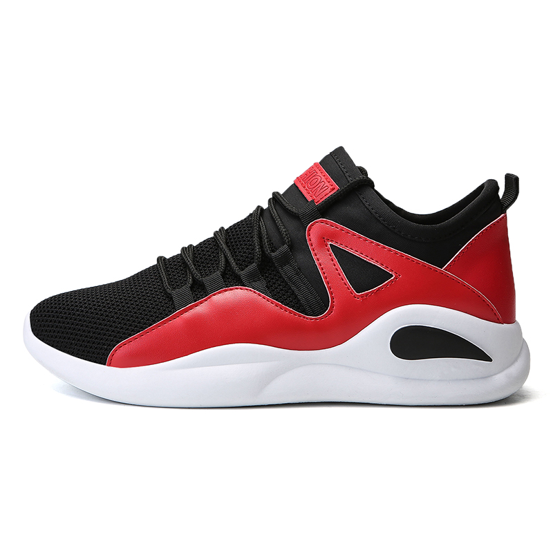 Breathable Summer Men Running Shoes Light Mesh Athletic Sneakers Men Lace-up Sport Shoes Train Walking Cheap Shoes Brand New