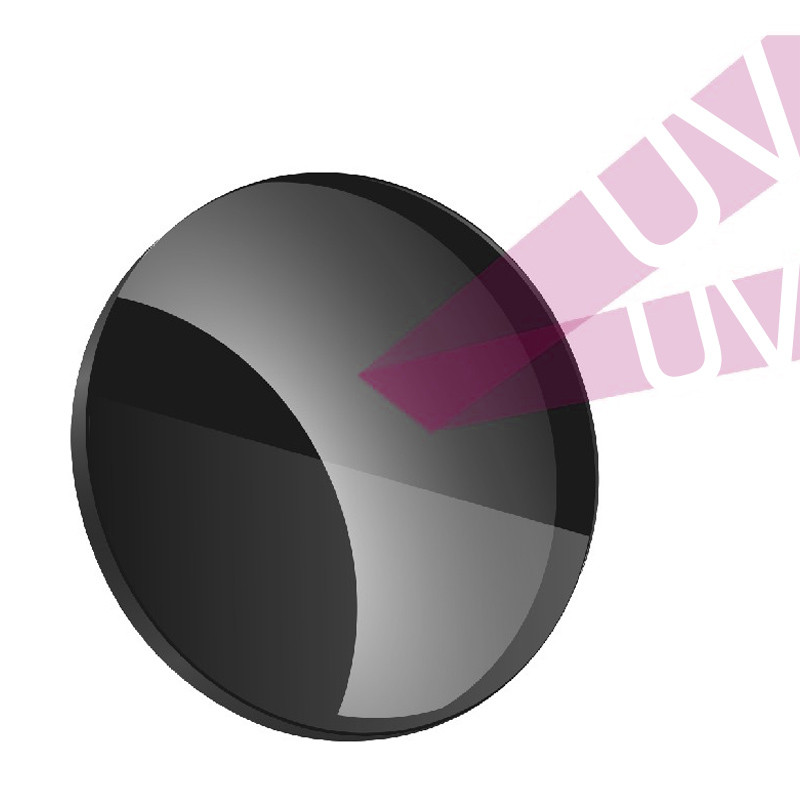 Lentes polarizadas para gafas de sol Miopía Hipermetropía Antirreflectante Lente graduada con UV Lentes de colores de visión nocturna