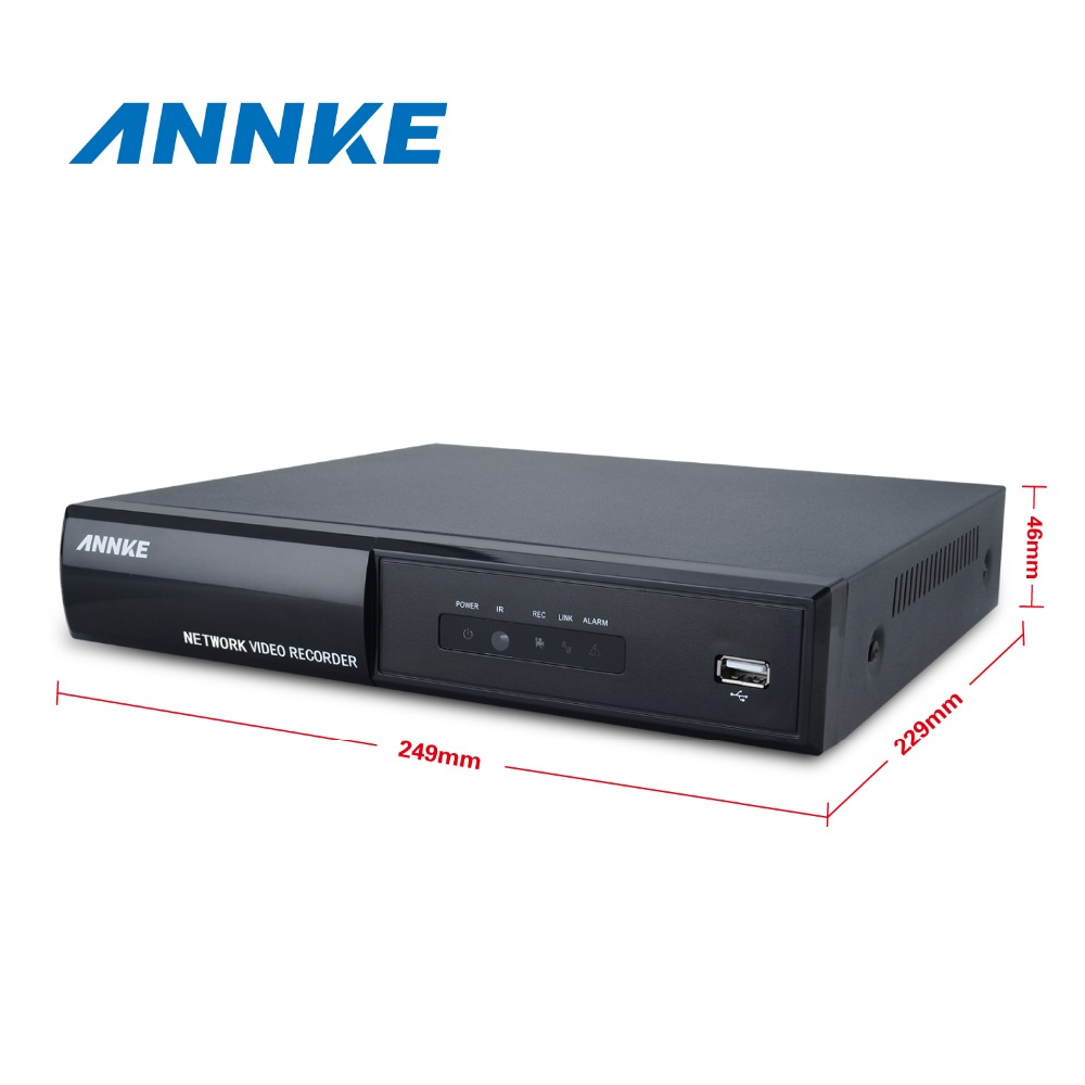 Annke 8CH Full 1080P POE NVR IP Network  PoE Video Record 8 Channel CCTV Surveillance NVR in CCTV Security System