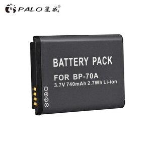 Image 3 - BP 70A EA BP70A IA BP70A BP70A IABP70A bateria do Samsunga AQ100, DV150F, ES65, ES67, ES70, ES71, ES73, ES74, ES75, ES80, MV800 ES90