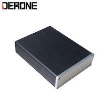 Caja de carcasa de aluminio, mini carcasa de amplificador chasis de preamplificador bastidor PSU 1304 para bricolaje, envío gratis