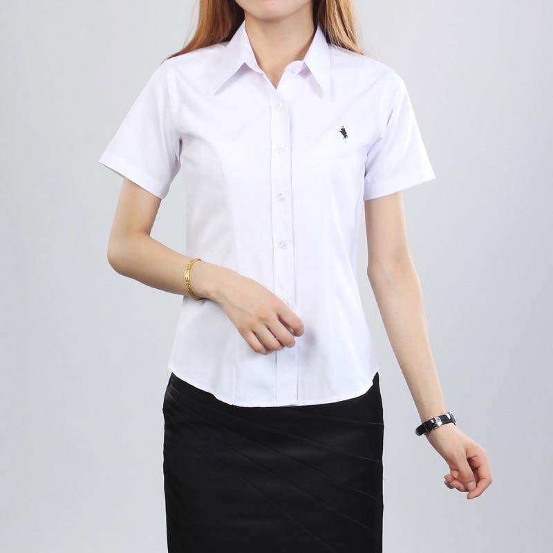 Popular womens white polo shirt buy cheap womens white for Plus size polo shirts ladies