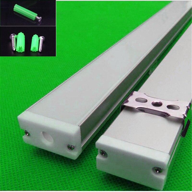 perfil de aluminio u em levou suspensao ou luminaria 02