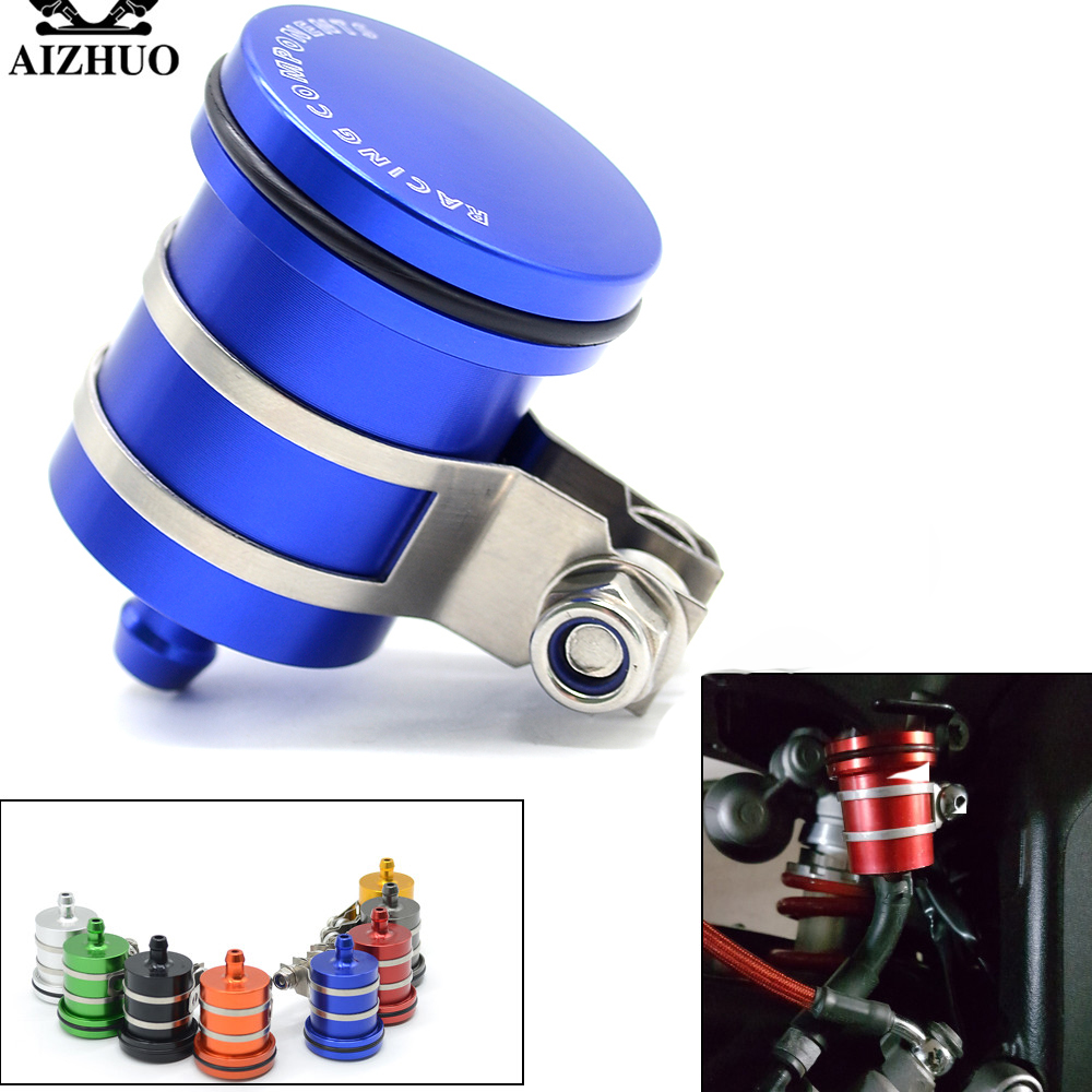 Motorcycle Brake Fluid Reservoir Clutch Tank Oil Fluid Cup For SUZUKI GSXR 2006 GSXR 600 K6 GSXR 750 GSXR 1000 K7 K9 GSXR1000