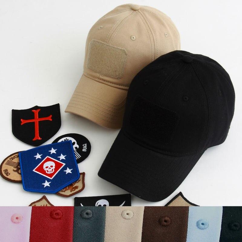 Prix pour TSNK NEUF de haute qualité Homme Femme Tactique Coton De Base de Course Chapeau De Mode Casquette de baseball Pare-Soleil Chapeau de Soleil (9 Couleurs)