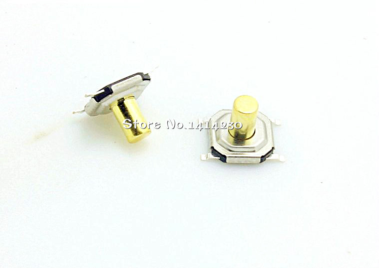 20PCS 4*4*4.3mm 4x4x 4.3MM 4X4X4.3mm Tactile Push Button Switch Tact 4 Pin Switch Micro Switch SMD