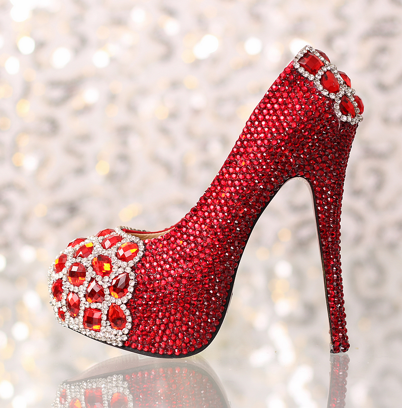 Online Buy Wholesale ruby red heels from China ruby red heels