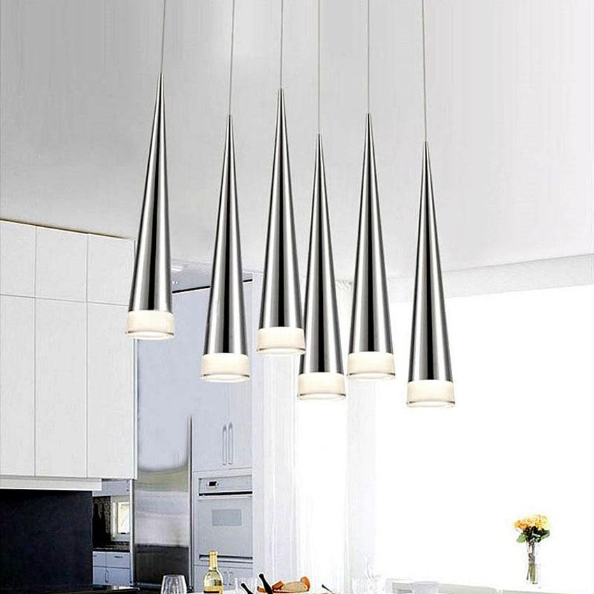 Modern pendant ceiling lamps 5W Minimalist led Conical Pendant Lamps Hanglamp dining-room bar Restaurant suspension luminaireModern pendant ceiling lamps 5W Minimalist led Conical Pendant Lamps Hanglamp dining-room bar Restaurant suspension luminaire