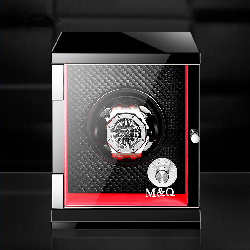 Luxury Solid Wood Single Mechanical Watch Winder Automatic Watches Winder Multi-function 5 Modes High Quality Watch Winder Box цена