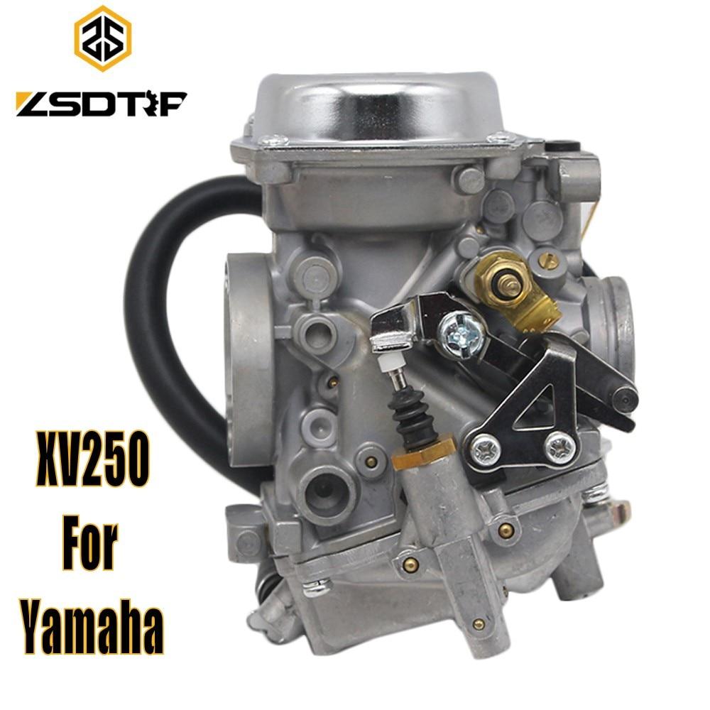 ZSDTRP XV250 26mm Carb Carburetor Aluminum Carburador Assy For Yamaha VX 250 Virago 250 V star