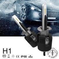 2018 2pcs New Bullet6 H1 H3 H4 H7 Car Led Turbo Fan 48w 7200lm Set H11