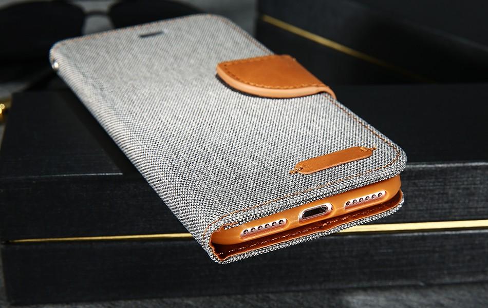Kisscase stań portfel przerzuć przypadki dla iphone 6 6s 7 5 5S mody hit kolor slot kart skóra pokrywa dla iphone 7 6 s plus z logo 19