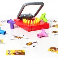 Писк! Это ловушка следите за кнопки! мышь вырвать торт Веселые Семейные игры игрушки, хватай сыр с палец мыши Логические игрушки