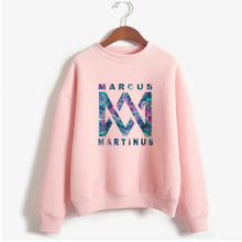 Kpop Bts Womens Sweatshirts Marcus And Martinus Hoodies Clothes Long Sleeve Pull