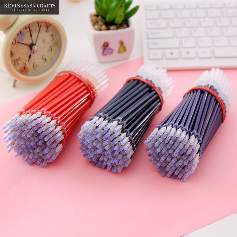 20Pcs Gel Pen Refill Gel Ink Pen Stationary Kawaii School Supplies Gel Ink Pen School Stationary Office Suppliers Pen Kids