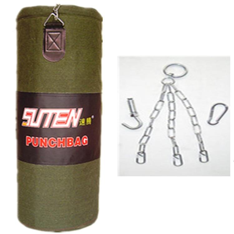 Suteng 100 cm vide plafond crochet MMA Muay Thai boxe sable sac Kickboxing poinçonnage Sandbagged entraînement Fitness équipement CO