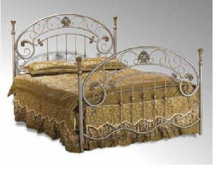 Doble de hierro de alto grado marco de la cama de princesa cama ...