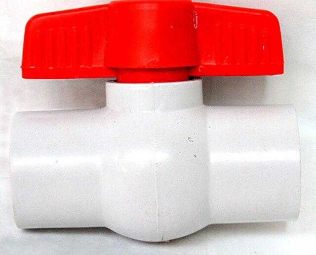 2PCS/Bag PVC Ball Value Irrigation Ball Valve Landscape Irrigation Device Valve  Garden Hose Fittings