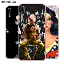 DREAMFOX L591 Joker Wonder Woman Soft TPU Silicone  Case Cover For Huawei Honor 6A 6C 7X 9 10 P20 Lite Pro P Smart 2019