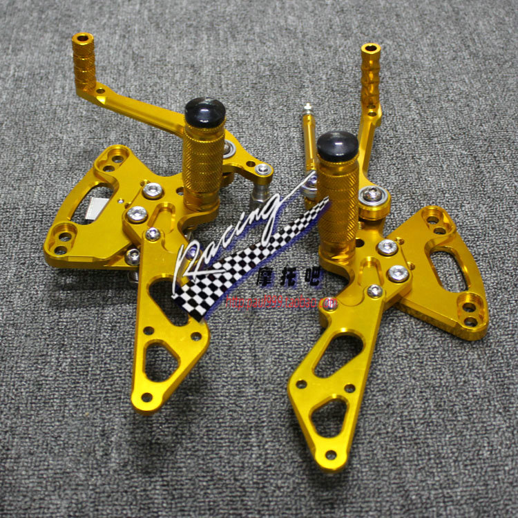For Kawasaki Z1000SX Aluminum Adjustable Footrest Foot Pegs Rider Rear Sets Rearset Footrest Foot Rest Motorcycle Accessories
