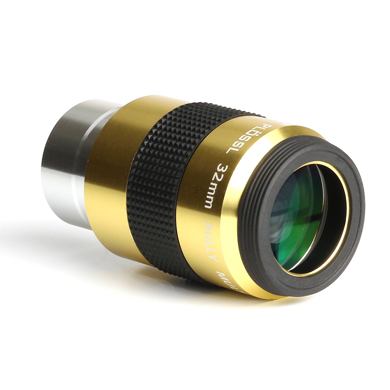 Datyson Luxury Telescope Eyepiece 32mm 50 FOV Plossl Fully Mutil Coated Lens1.25 Inch Ports With M28X0.6mm Filter Threads