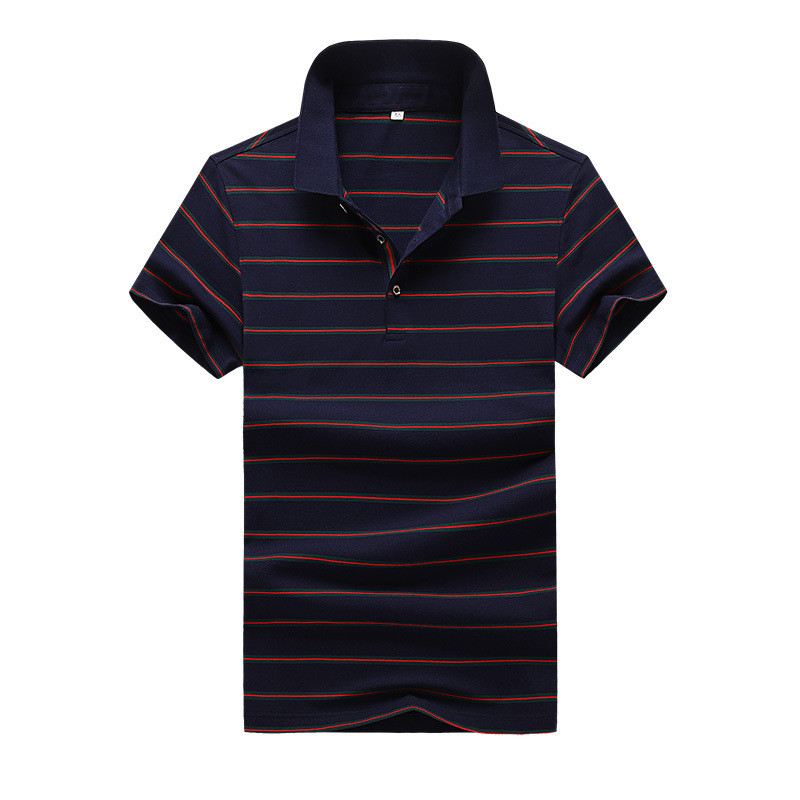 Men's   Polo   Shirt 2019 New Fashion Male Short Sleeve Casual Fitness Stripe   Polo   Shirt High Quality Summer Clothes
