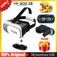 2016 VR BOX 2 0 Google VR Glasses 3D Realidade Virtual DIY Google ABS Plastic Headmount