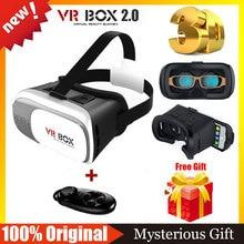 100% Оригинальный VR 2.0 Виртуальная Реальность 3D Очки Очки vr шлем vr shinecon бобо z4 3.0 + bluetooth мышь пульт дистанционного контроллер