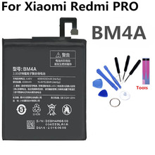 BM4A Mobile Phone Battery For Xiaomi redmi PRO Real Capacity 4050mAh Replacement Li-ion