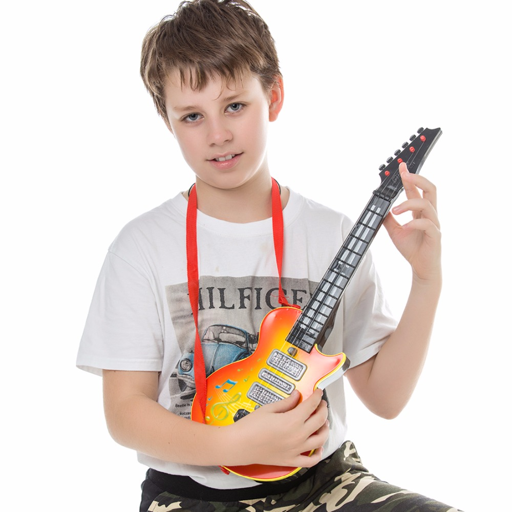 Hiqh-Quality-4-Strings-Music-Electric-Guitar-Kids-Musical-Instruments-Educational-Toys-For-Children-juguetes-As-New-Year-Gift-5