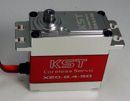 KST X20-8.4-50 180 degree 78g/ 45kg/ .15 sec All Metal High Torque Digital Servo X20-8.4-50 for RC Model X20