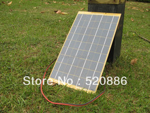 40W 4 pcs 10w Solar Cell panel for diy  boat motorcycle 18V Battery Charger