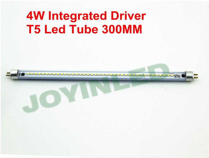 Factory wholesale 30pcs 4W 2835SMD energy saving t5 led tube light 300mm replace led fluorescent tube smd2835 factory led tube light t8 60w led tube light