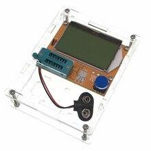 2017 Mega328 M328 LCR-T4 ESR Meter LCR led Transistor Tester Diode Triode Capacitance MOS PNP/NPN for Transistor Tester + CASE