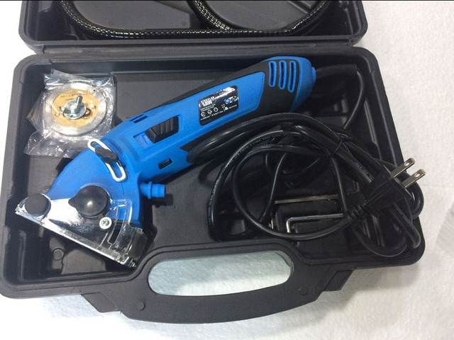 New Mini electric multi-functional protable cutter ,chainsaw ,metal , wood ,plastic saws tile cutter cutting tool 2