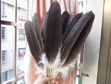 Atacado 10 raras penas de águia natural 40 45 cm/16 18 polegadas celebração decoração jóias acessórios palco desempenho diy
