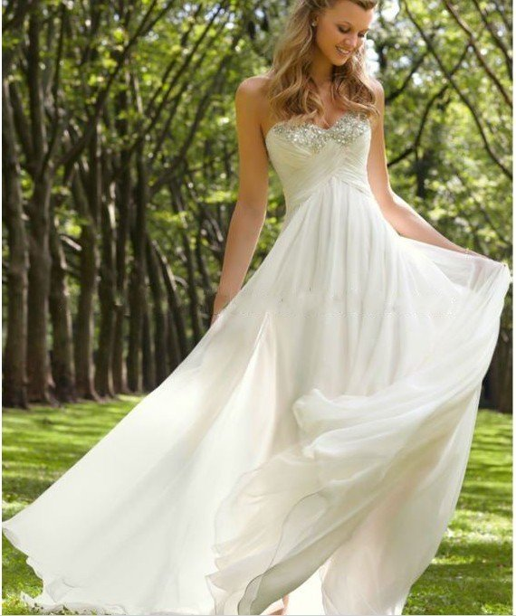 Beautiful Simple Wedding Dress - Wedding Dresses