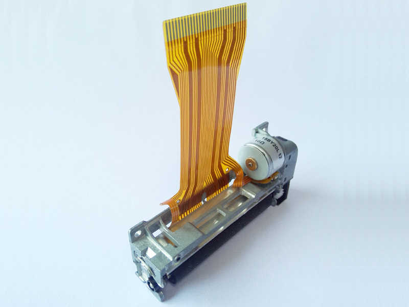 Printhead termal 2RA 58mm printer kepala kecepatan tinggi kompatibel dengan FTP-628MCL101 berlaku untuk printer pos perangkat genggam