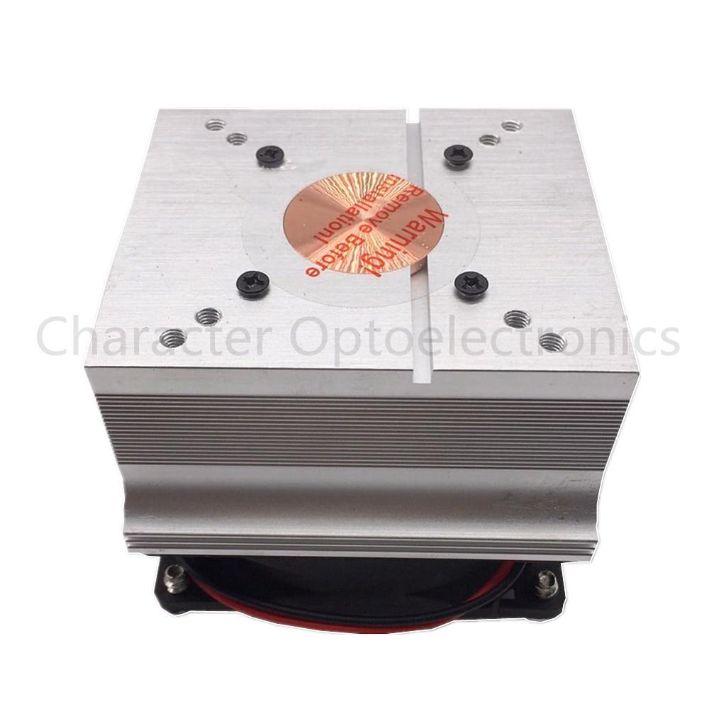 2 pièces livraison gratuite aluminium dissipateur de chaleur ventilateur de refroidissement 20 W 50 W 100 W haute puissance lampe à LED 80 degrés 44mm lentille + réfléchissant + support