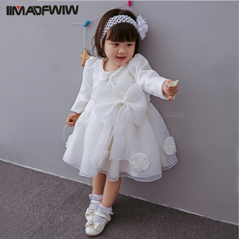 2017 New Baby Cotton Dress Hundred Days Infant Dress 0-3 Years Princess Girls Sleeveless Dress for Spring Summer Color White morais r the hundred foot journey