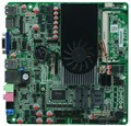 I5 3317U processor All in one motherboars  ultrathin industrial embedded motherboard with 8*usb 6*com
