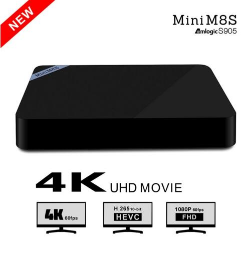 Mini M8S Mini M8S II Android 5 1 TV Box Amlogic S905 2GB 8GB Quad core