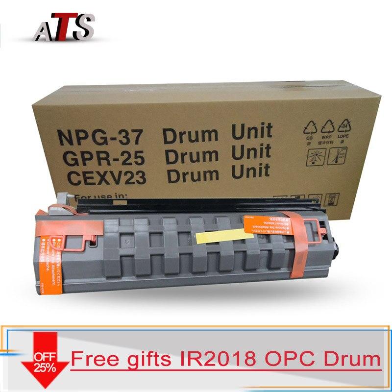 NPG 37 GPR 25 EXV 23 Black Drum Unit Toner cartridge kit For Canon imageRUNNER IR