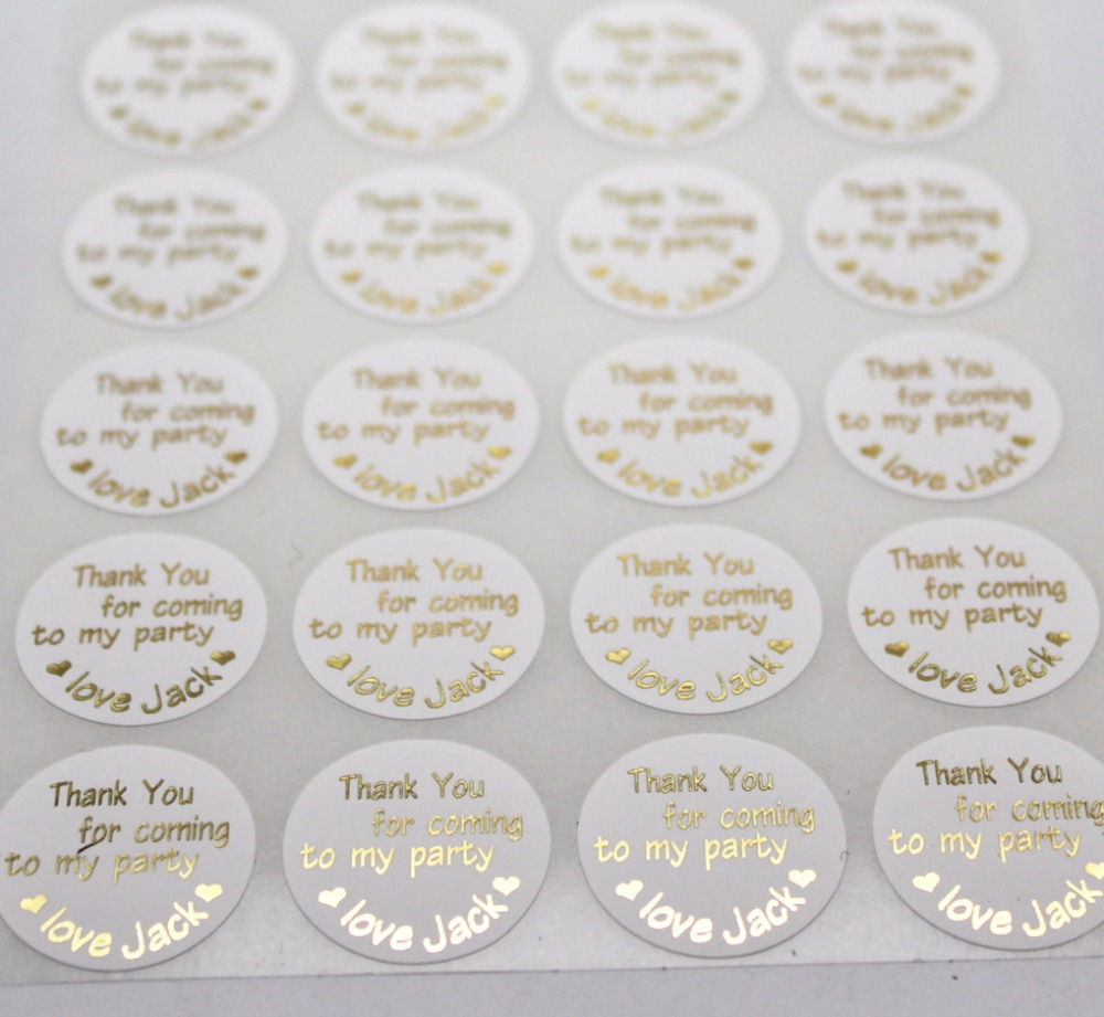 Wedding invitation seals party decocration personalized thank you wedding invitation seals party decocration personalized thank you for coming my party waterproof label souvenirs bag sticker in decorative films from home monicamarmolfo Images