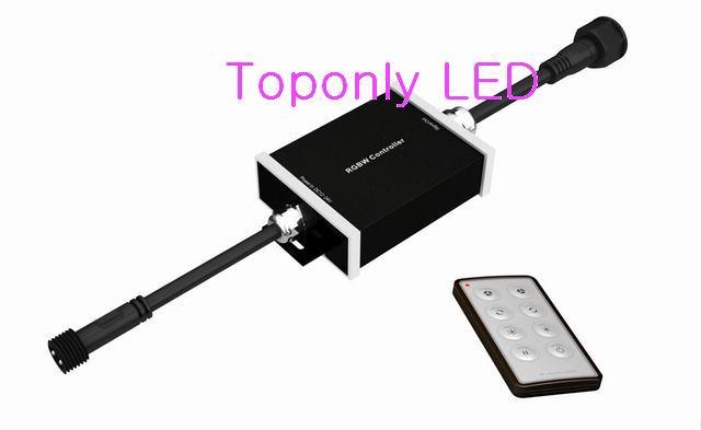 4 в 1 RGBW Пульт дистанционного управления беспроводной светодиодный контроллер DC12 24v 180 Вт IP65 Открытый водонепроницаемый CE & ROHS 20 шт./лот Акция