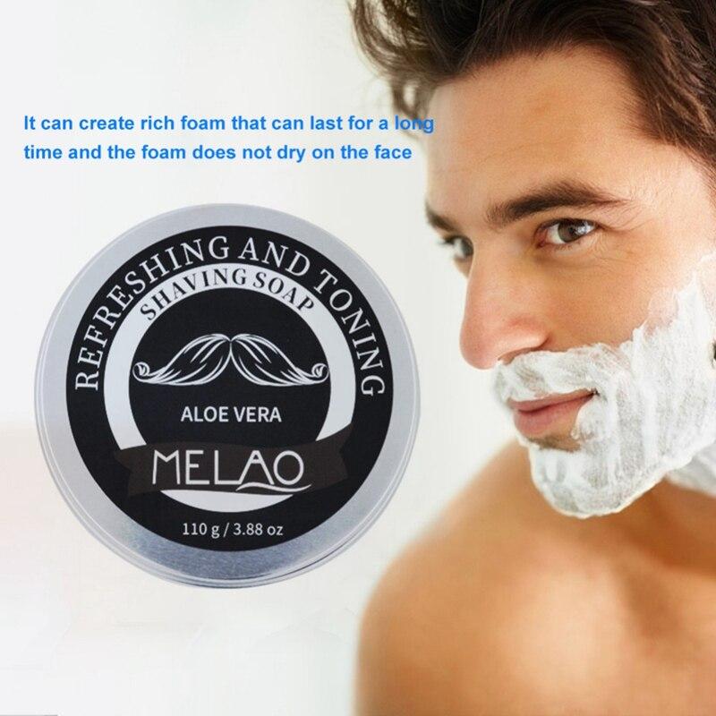 Professional Shaving Cream Anti-Allergy Shaving Soap Cream Foaming Moisturizing Razor Barbering Men Shaving Soap Cream