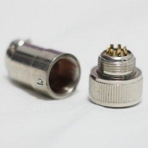 Image 5 - 8 ピンオスコネクタ作るリモートケーブルキヤノンやフジノン用リモコン用 ENG レンズ
