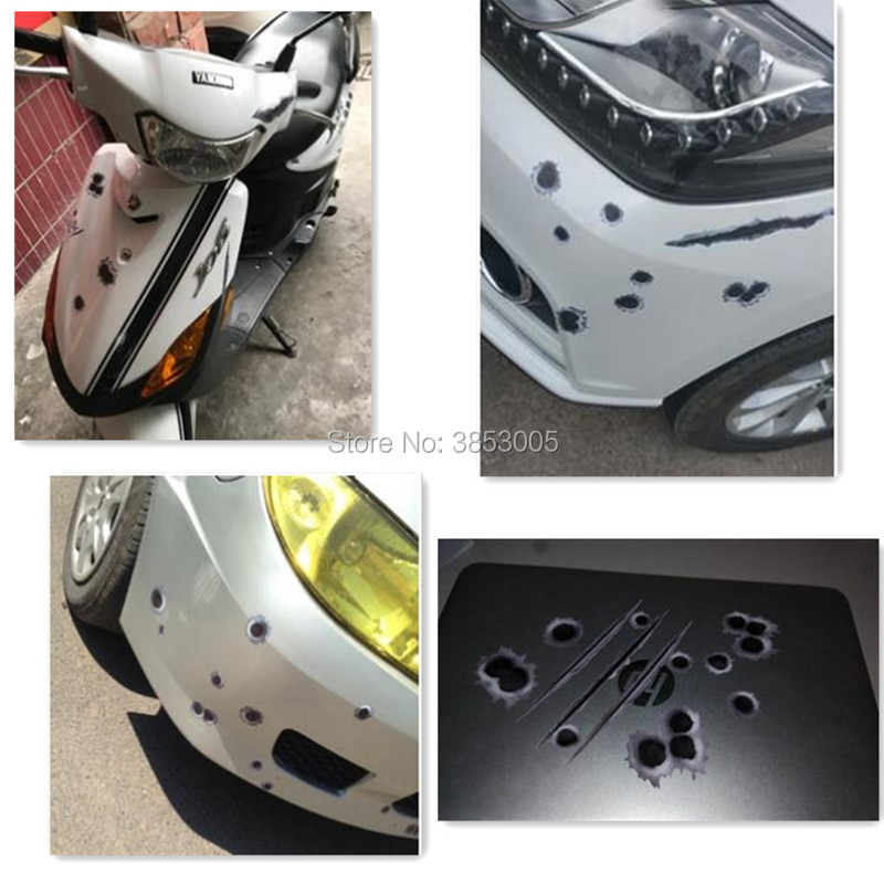 2018 hot car single hole full body sticker for SsangYong Actyon Turismo Rodius Rexton Korando For KIA RIO Ceed Fabia Accessories image
