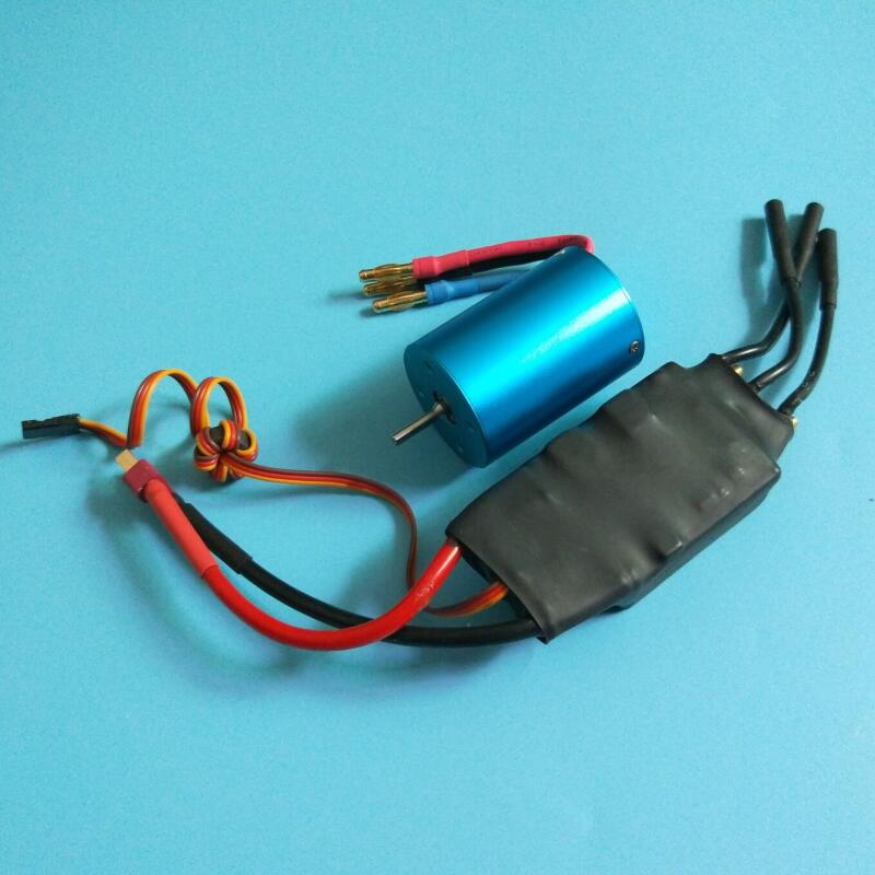 125A RC Boat ESC+3650 Brushless Boat Motor Set Dual Way Water Cooling Forward/backward Electronic Speed Controller Spare Part h625 pnp spike fiber glass electric racing speed boat deep vee rc boat w 3350kv brushless motor 90a esc servo green